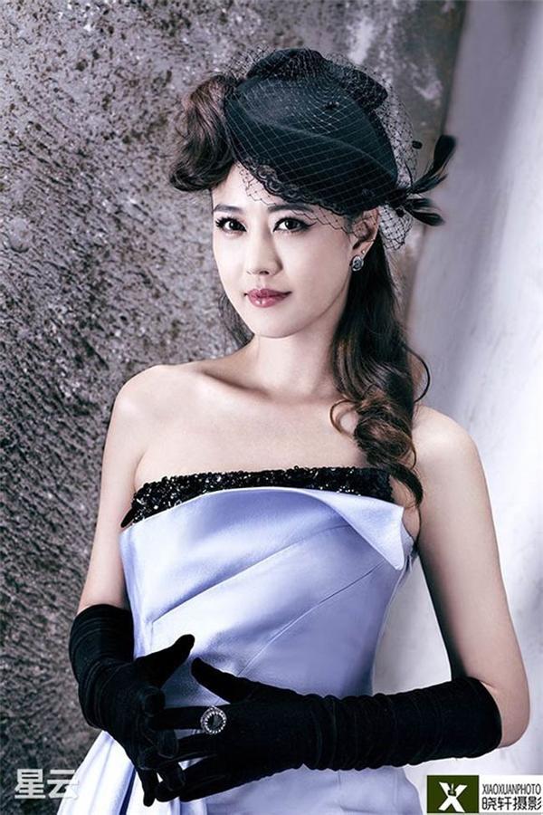 """Châu Hải My được mệnh danh là """"mỹ nhân không tuổi""""."""