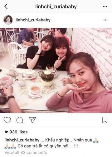 """Linh Chi vui vẻ đi ăn cùng bạn bè giữa """"bãogiựt chồng"""". - Tin sao Viet - Tin tuc sao Viet - Scandal sao Viet - Tin tuc cua Sao - Tin cua Sao"""