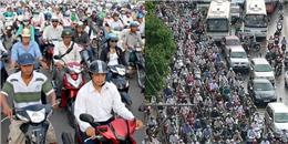Hà Nội, TP. HCM: Cấm xe máy, đi bằng gì?