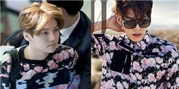 Mỹ nam xứ Hàn cá tính với trang phục nhiều họa tiết