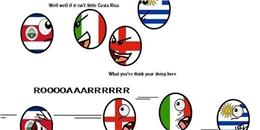 [Bóng Đá] Ảnh chế hài hước về chiến thắng vĩ đại của Costa Rica