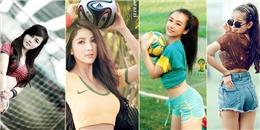 [Bóng Đá] Dàn hot girl Việt đua nhau khoe sắc mùa World Cup