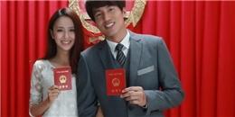 Hé lộ ảnh Ngôn Thừa Húc và Đồng Lệ Á đi đăng ký kết hôn