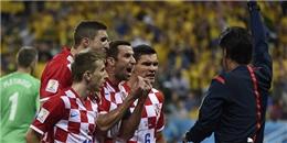 [ Bóng Đá ] Thua Brazil, cầu thủ Croatia làm bậy trong phòng thay đồ