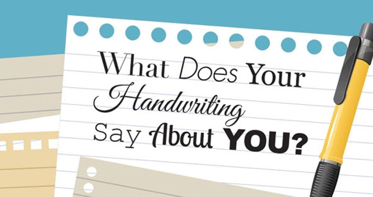 [Bạn Biết Chưa] Chữ viết nói gì về tính cách của bạn?