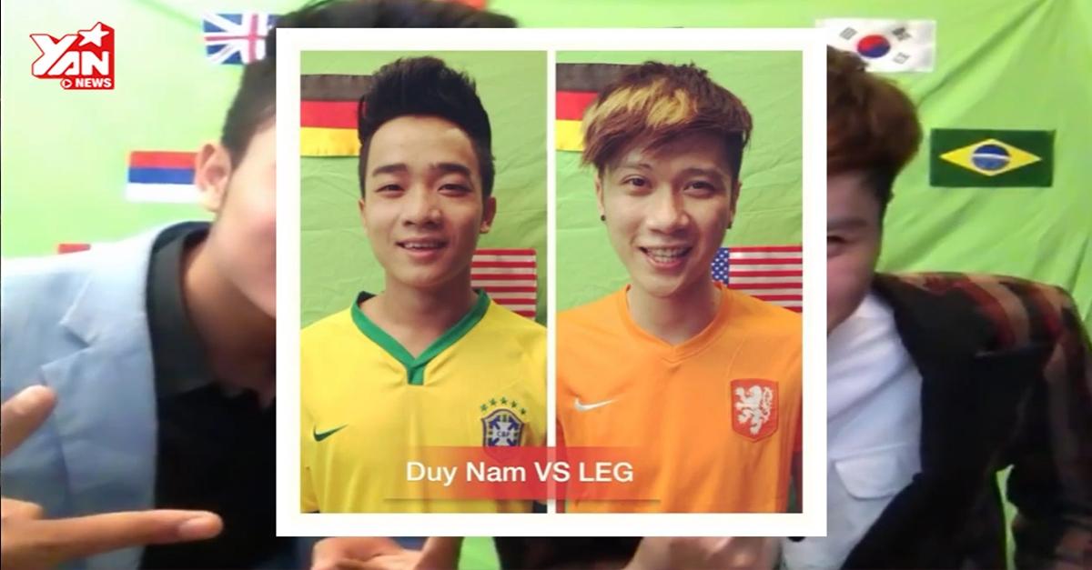 """Vanh LEGG gây sốt với """"Em của mùa World Cup"""" chế từ hit của Sơn Tùng"""
