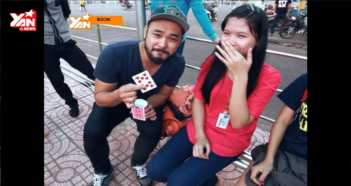 [Boom] Petey Nguyễn trổ tài ảo thuật giữa đường phố