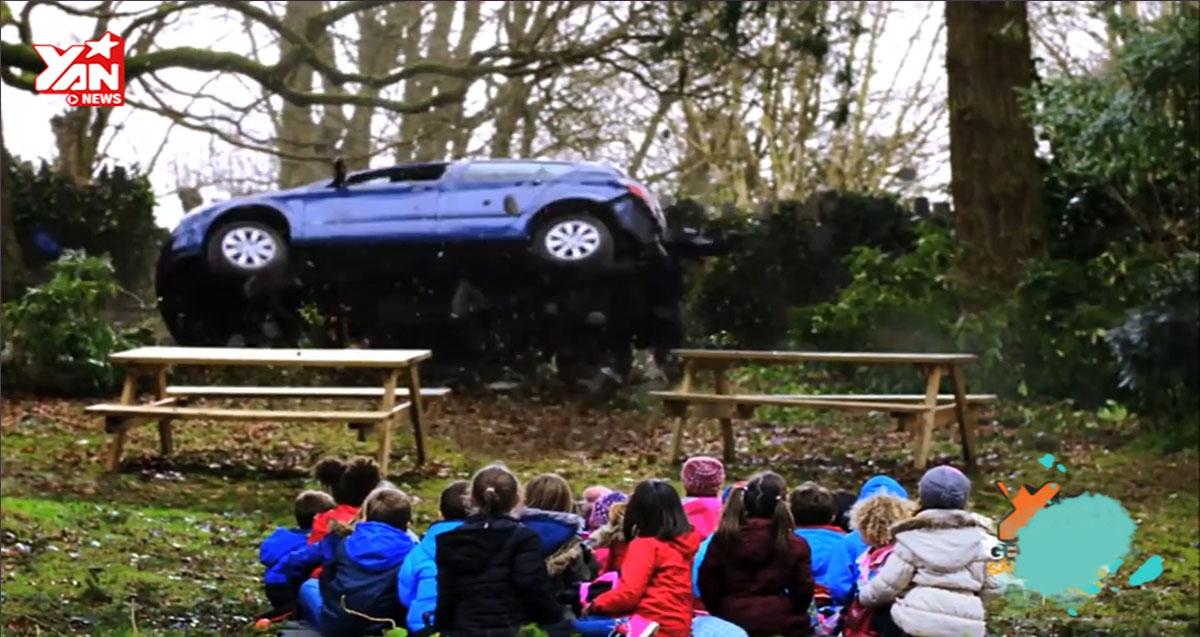 Clip cổ động lái xe an toàn đầy táo bạo