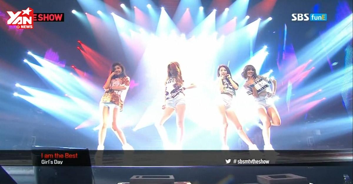 """[Stage] Girl's Day cover hit của đàn chị SNSD, 2NE1 bị cư dân mạng """"ném đá"""""""