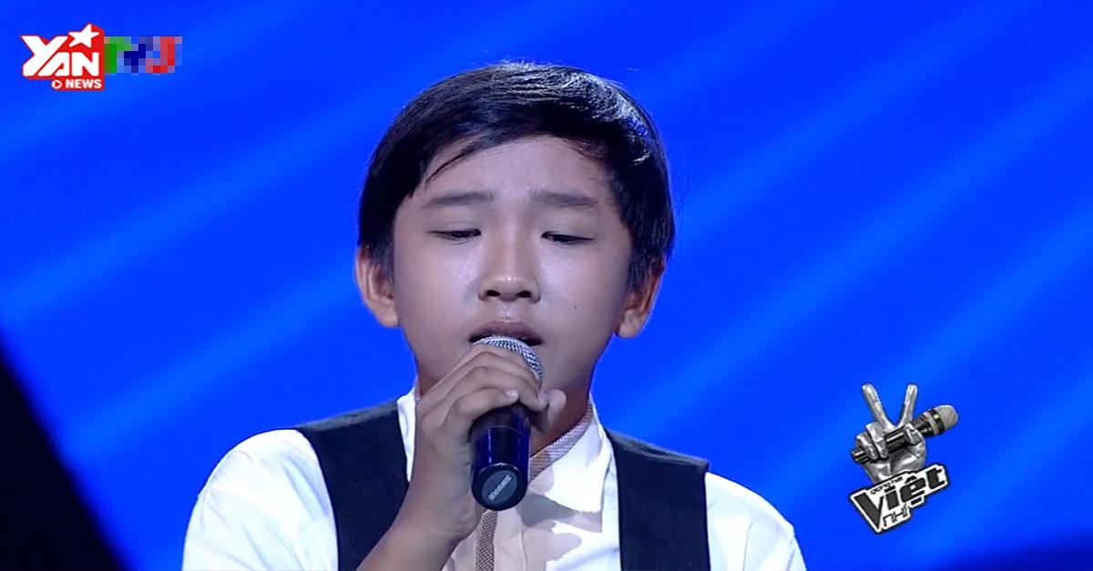 [Giọng hát Việt nhí] Giọng hát cao vút khiến Lam Trường phấn khích