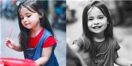 Bé gái 3 tuổi lai Việt - Hungary 'đốn tim' cộng đồng mạng