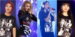 2NE1 lưu luyến không nỡ rời xa fan Việt