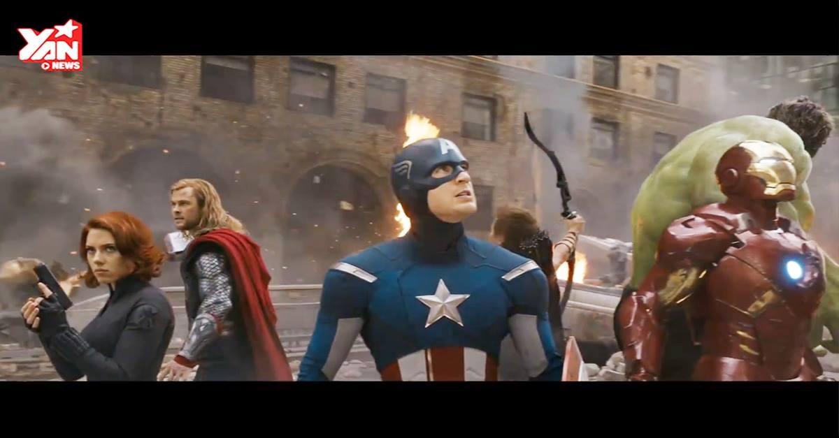 Tổng hợp các siêu phẩm của Marvel trong clip 5 phút cực ấn tượng