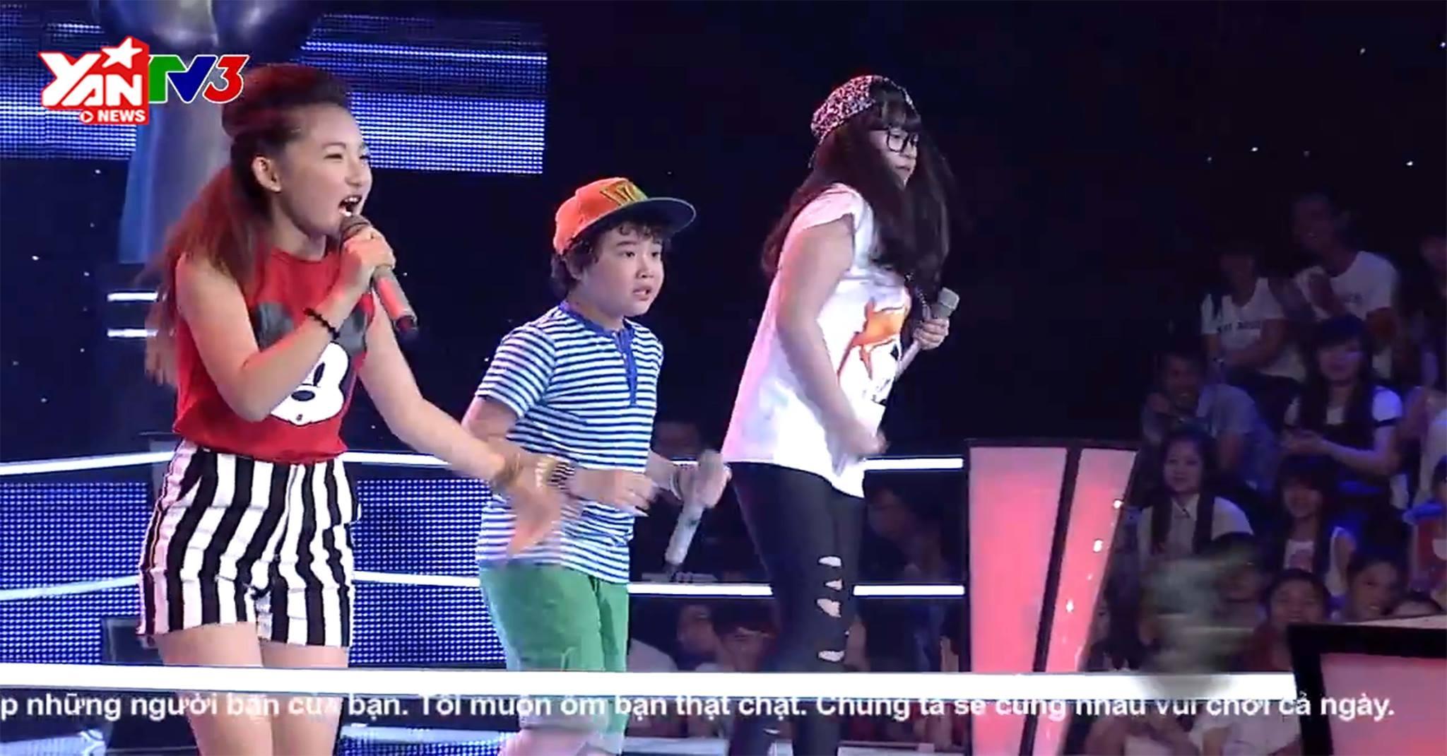 [Giọng Hát Việt Nhí] Hồ Hoài Anh cho học trò cover hit của One Direction