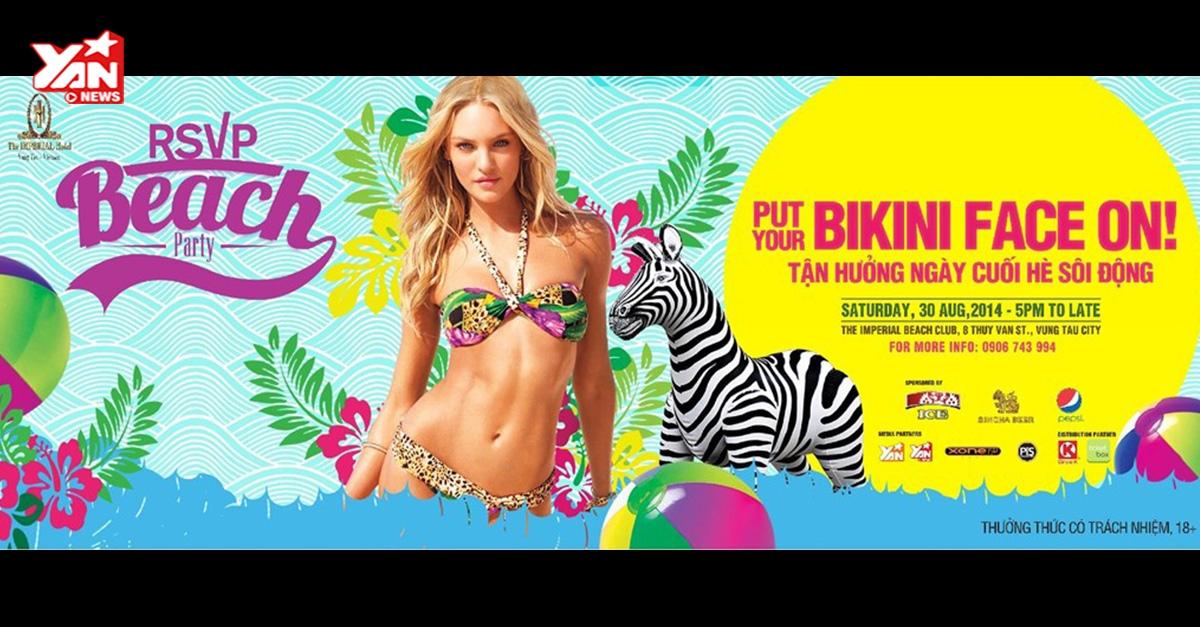 Tưng bừng tham gia tiệc bãi biển cùng RSVP!