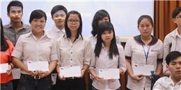 Trao giải học bổng thể thao sinh viên Việt Nam năm 2014