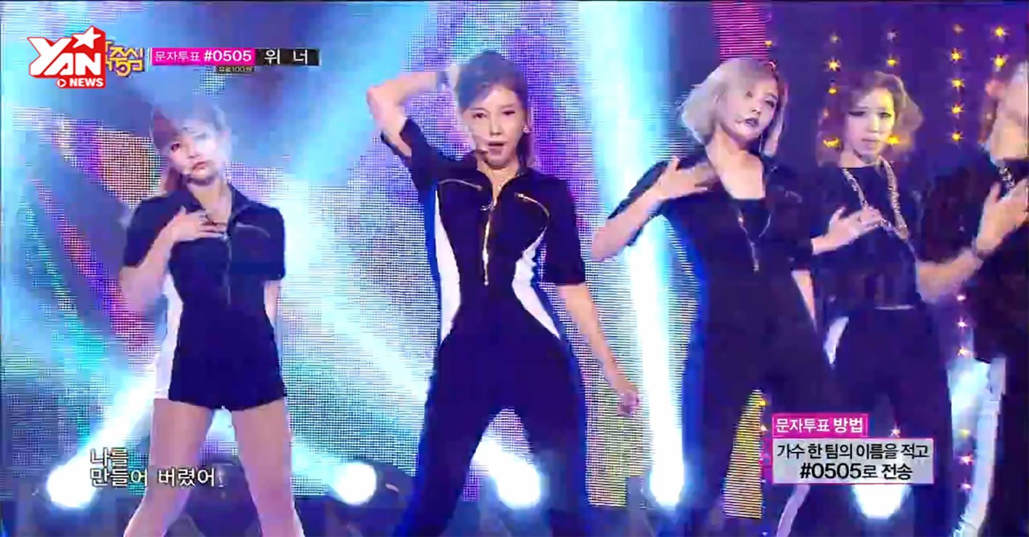 """T-ara """"quẩy"""" hết mình trên sân khấu với """"Sugar Free"""""""