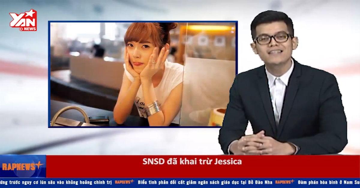 """Rap News """"buôn chuyện"""" SNSD """"từ mặt"""" Jessica và biểu tình ở Hongkong"""