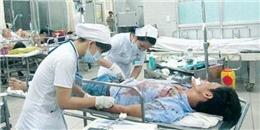 Nữ y tá bị đâm thủng bụng khi khâu vết thương cho bệnh nhân