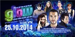Cùng Shayne Ward tham gia lễ hội Glow Hà Nội 2014