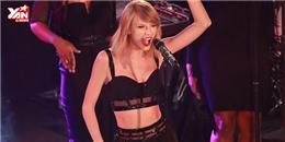 Taylor Swift tự tin hát live single mới