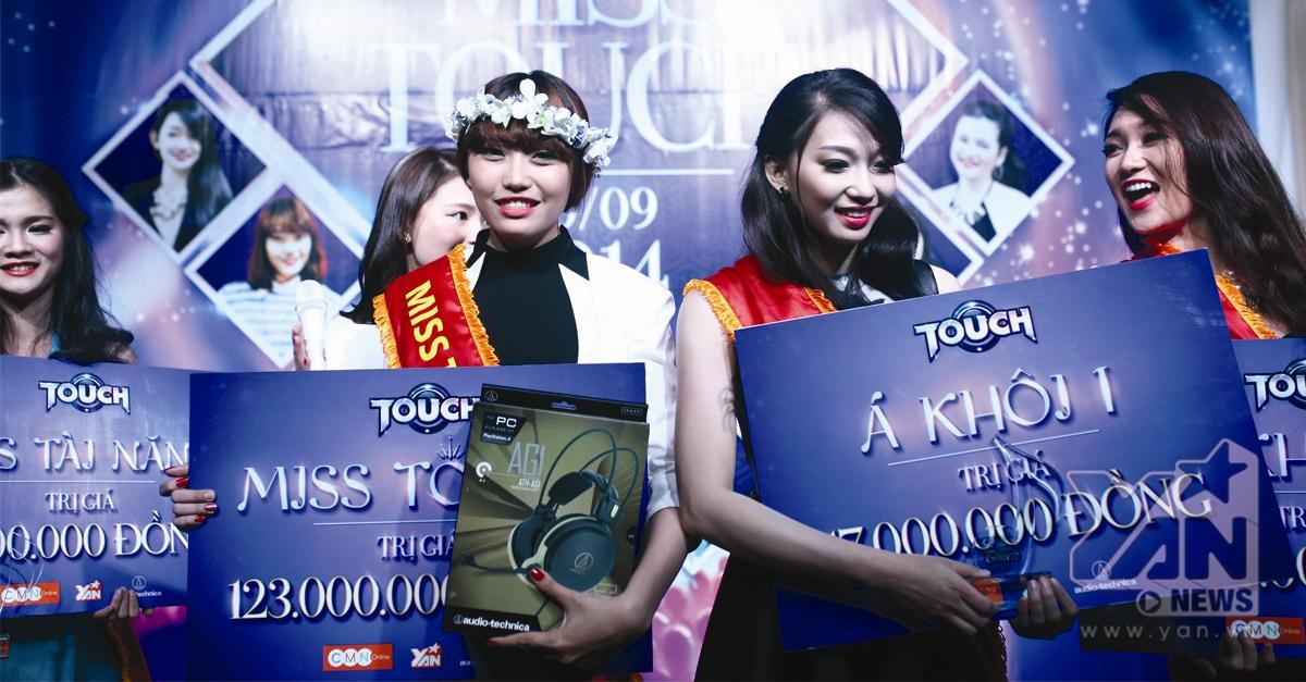 Cô gái xinh đẹp nào đăng quang Miss Touch