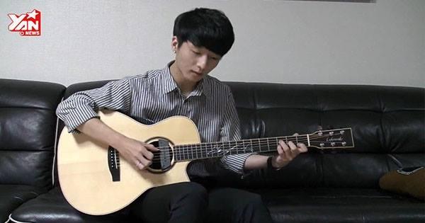 Tài năng guitar Hàn Quốc tung clip cover hit của Adam Levine