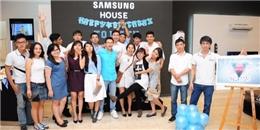 Bạn trẻ tổ chức tiệc sinh nhật bất ngờ tại Samsung House
