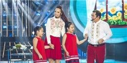 Hai con gái Thúy Hạnh lần đầu khoe giọng hát