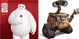 Những chú robot 'siêu đáng yêu' trong phim hoạt hình