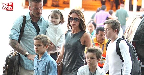 Bí mật bên trong gia đình Beckham