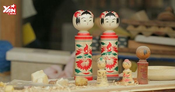 Ấn tượng với nghệ thuật làm búp bê gỗ Nhật Bản