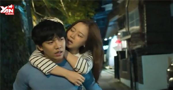 Lee Seung Gi tình tứ với bạn diễn trong phim mới
