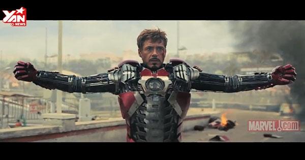 """Tổng hợp những cảnh quay """"thay đồ"""" của Iron Man cực đẹp mắt"""