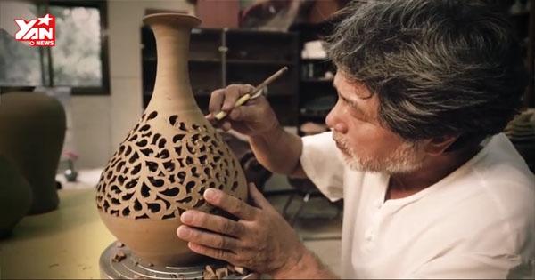 Độc đáo với nghệ thuật làm bình gốm của người Hàn