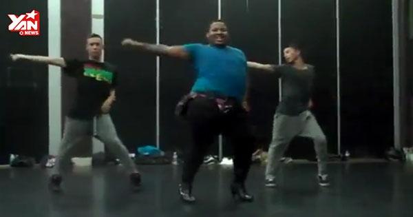 Bất ngờ với khả năng vũ đạo cực đỉnh của chàng béo