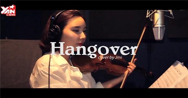 """Nghệ sỹ Hàn cover hit """"Hangover"""" tặng Thu Minh"""