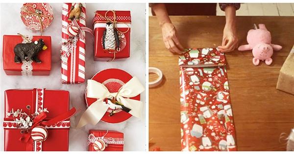 Chiêu gói quà Giáng sinh đẹp để nhanh có người yêu
