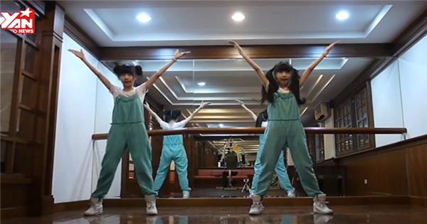 Cặp song sinh hotgirl tung clip cover hit mới của T-ara