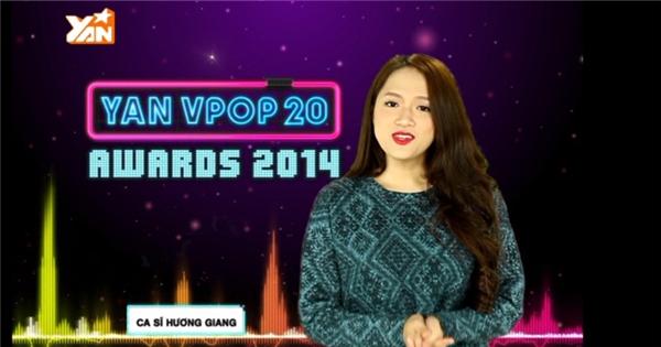 Hương Giang Idol kêu gọi fan theo dõi YAN Vpop 20 Awards