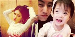 Suzy cực quyến rũ với bờ môi đỏ, Mark khoe ảnh cực đáng yêu bên trẻ con
