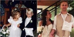 Đôi phù dâu - phù rể nhí 20 năm trước bất ngờ nên duyên vợ chồng