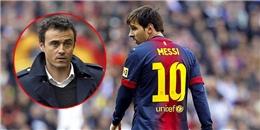 Bất mãn HLV Enrique: Messi nổi loạn, bỏ tập