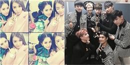 Seohyun tình cảm bên Tiffany, GOT7 hạnh phúc giành giải thưởng SMA