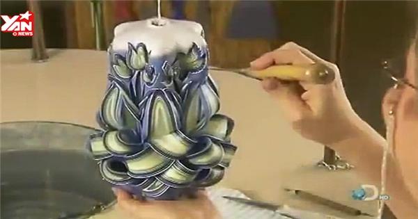 Độc đáo với nghệ thuật làm nến trang trí
