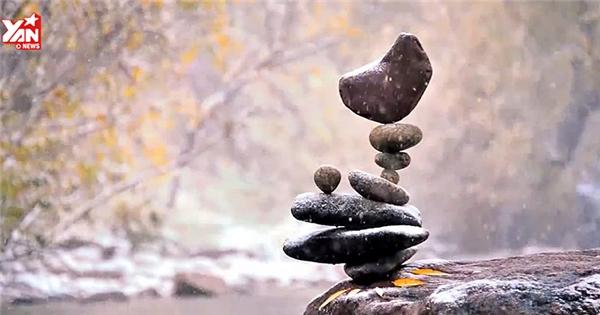 Độc đáo với nghệ thuật sắp xếp đá cuội