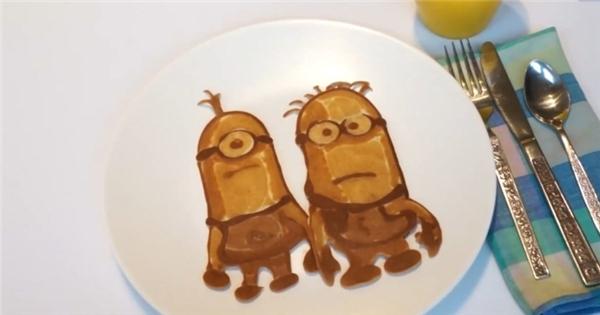 Tự làm bánh xếp hình Minion cực dễ thương!