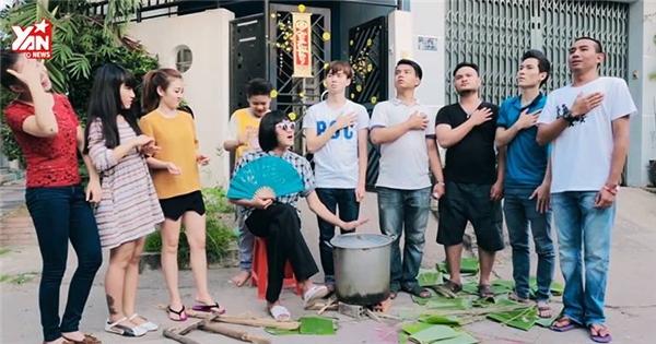 """Hài hước với clip """"Tết trong gia đình người Việt"""""""