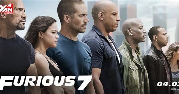 """Fast & Furious 7 tung trailer đầu tiên đầy """"máu lửa"""" với sự xuất hiện của Paul Walker"""