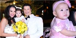 Hai con gái Dustin - Bebe dự đám cưới bố mẹ